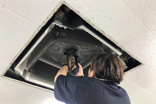 【事業所】業務用のエアコン洗浄