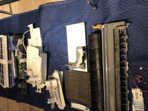 東芝のお掃除ロボットエアコンクリーニング