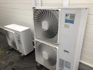 エアコンの室外機
