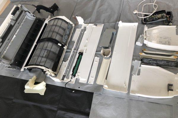 ダイキンとパナソニックのお掃除ロボット付きのエアコンクリーニング