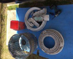 福岡市南区で洗濯機の分解掃除