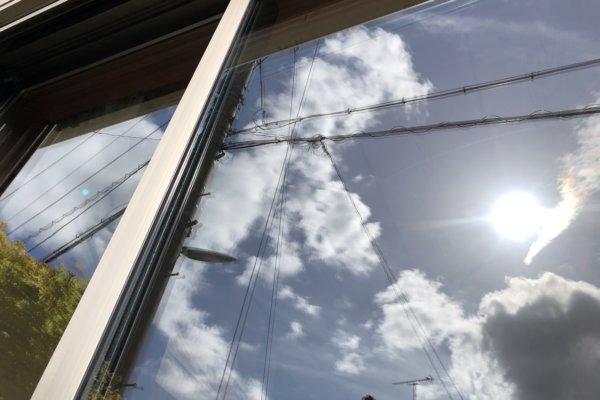 福岡市南区で窓掃除