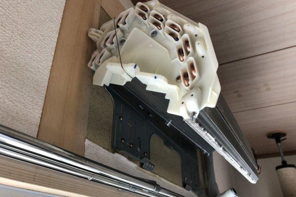 エアコンの完全分解洗浄/福岡