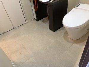 洗面所の大理石