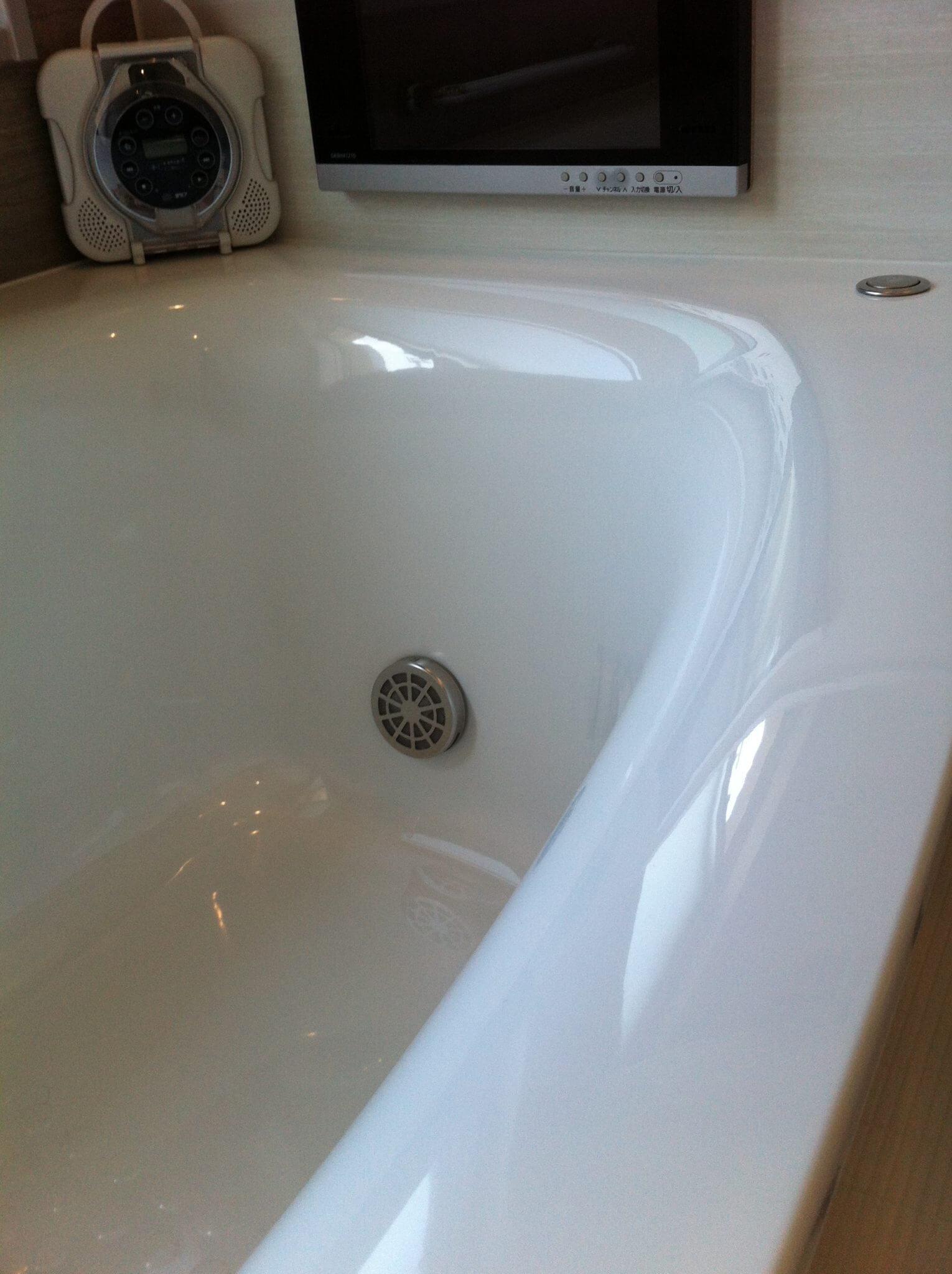浴室クリーニング(金属石鹸)