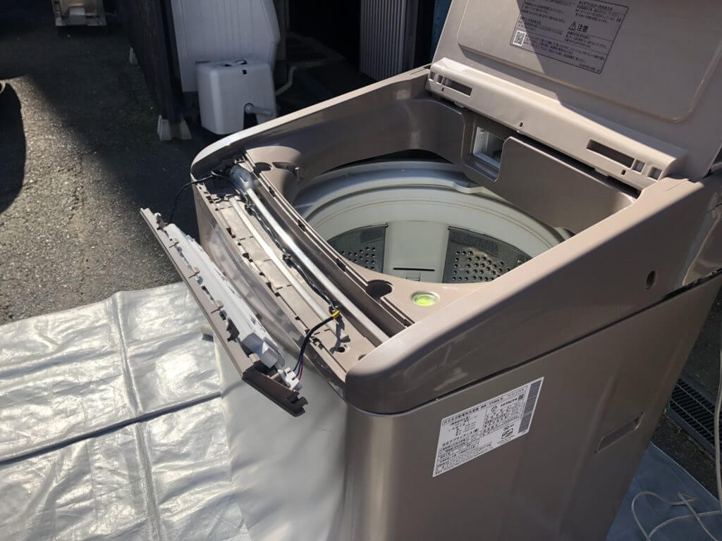 日立 ビートウォッシュの分解掃除