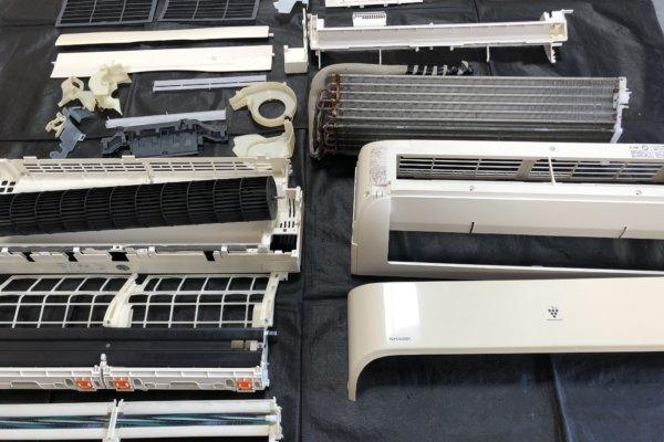 エアコンを取り外してエアコンクリーニング(シャープAY-Y28SC)