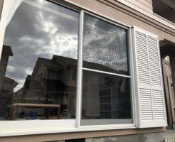 窓のクリーニング
