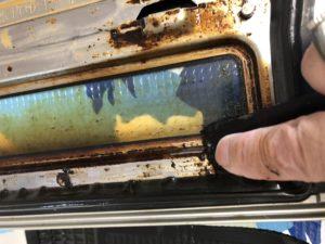 魚焼きグリルのクリーニング